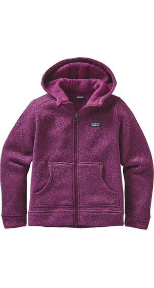 Patagonia Girls Better Sweater Hoody Violet Red